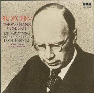 プロコフィエフ:ピアノ協奏曲全集(5曲),他