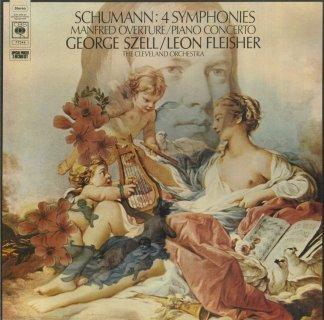 シューマン:交響曲全集(4曲),マンフレッド序曲,ピアノ協奏曲
