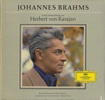 ブラームス・作品集/交響曲(全4曲),ヴァイオリン協奏曲,ドイツ・レクイエム,ハイドン変奏曲