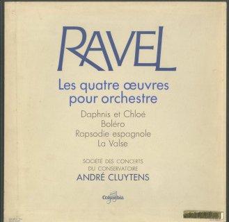 「ラヴェル:管弦楽曲集」ダフニスとクロエ,ボレロ,スペイン狂詩曲,ラ・ヴァルス