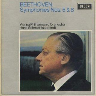 ベートーヴェン:交響曲5番Op.67「運命」,8番Op.93