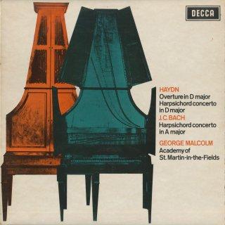 ハイドン:序曲,チェンバロ協奏曲,J.C.バッハ:チェンバロ協奏曲