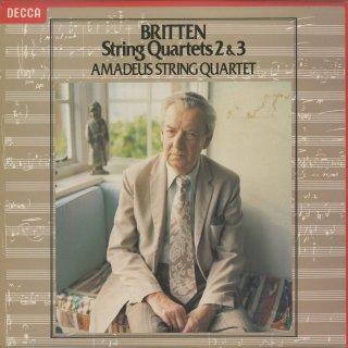 ブリテン:弦楽四重奏曲2番Op.36,3番Op.94