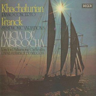 ハチャトゥリャン:ピアノ協奏曲,フランク:交響的変奏曲