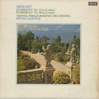 モーツァルト:交響曲25番K.183,40番K.550