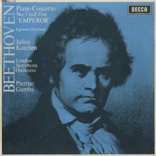 ベートーヴェン:ピアノ協奏曲5番Op.73「皇帝」,エグモント序曲Op.84