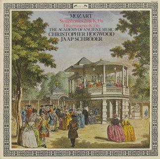 モーツァルト:交響曲K.19a,29番K.186a,ディヴェルティメントK.136