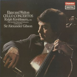 エルガー:チェロ協奏曲Op.85,ウォルトン:チェロ協奏曲