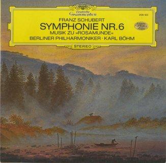 シューベルト:交響曲6番,「ロザムンデ」〜序曲,バレエ音楽1,2番