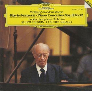 モーツァルト:ピアノ協奏曲20番K.466,12番K.414