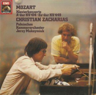 モーツァルト:ピアノ協奏曲14番K.449,12番K.414