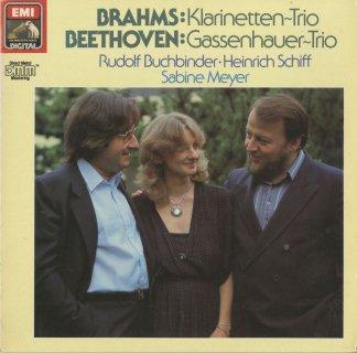 クラリネット三重奏曲集/ブラームス:Op.114,ベートーヴェン:Op.11