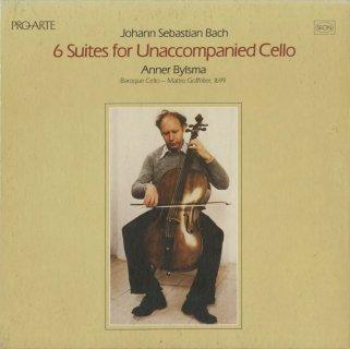 バッハ:6つの無伴奏チェロ組曲BWV.1007〜12