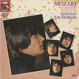 モーツァルト:ピアノ・ソナタ集Vol.3/4番K.282,6番K.284,14番K.457