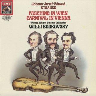 ウィーンの謝肉祭(全13曲)/ヨハン・シュトラウス�,エドゥアルド・シュトラウス,ヨーゼフ・シュトラウス
