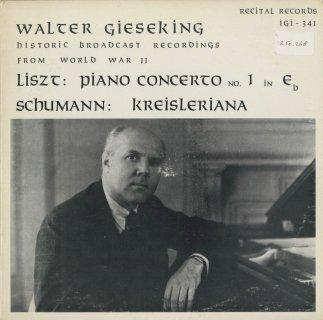 リスト:ピアノ協奏曲1番,シューマン:クライスレリアーナOp.16