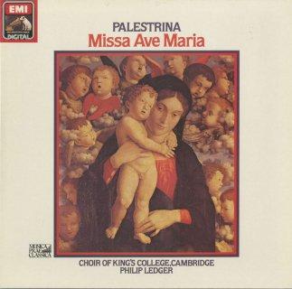 パレストリーナ:6声のミサ曲「アヴェ・マリア」