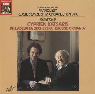 リスト:ハンガリーのジプシー旋律,ハンガリー幻想曲,さすらい人幻想曲(シューベルトの同曲による)