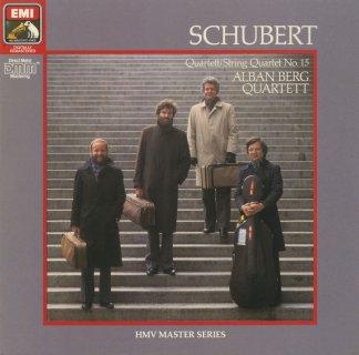 シューベルト:弦楽四重奏曲15番Op.161