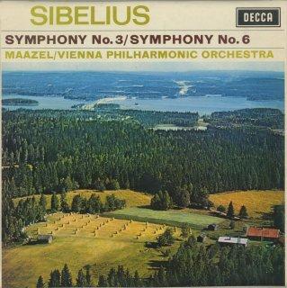シベリウス:交響曲3番Op.52,6番Op.104