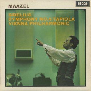 シベリウス:交響曲4番Op.63,交響詩「タピオラ」Op.112