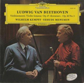 ベートーヴェン:ヴァイオリン・ソナタ9番Op.47「クロイツェル」,8番Op.30-3