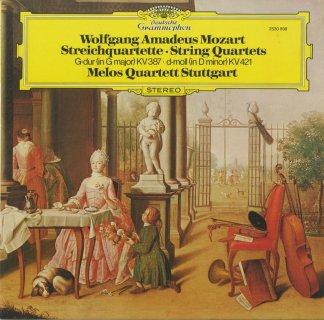 モーツァルト:弦楽四重奏曲14番K.387,15番K.421