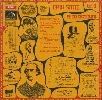 サティ・ピアノ作品集Vol.6/組合された3つの小品,オジーヴ,ゴシック舞曲 他