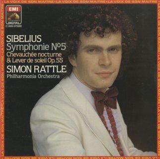 シベリウス:交響曲5番Op.82,夜の騎行と日の出Op.55