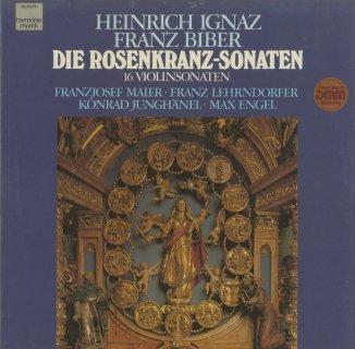 ビーバ−:ロザリオのソナタ(全16曲)