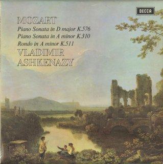 モーツァルト:ピアノ・ソナタ17番K.576,8番K.310,ロンドK.511