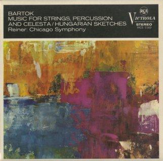 バルトーク:弦楽器,打楽器とチェレスタのための音楽,ハンガリーの風景