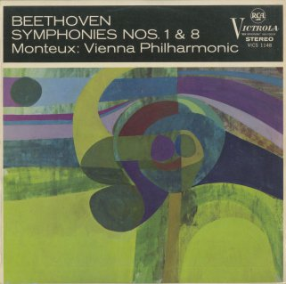 ベートーヴェン:交響曲1番Op.21,8番Op.93