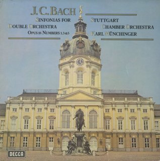 J.C.バッハ:シンフォニア1,3,5番Op.18