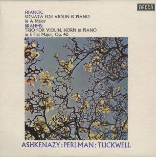 フランク:ヴァイオリン・ソナタ,ブラームス:ホルン・トリオOp.40