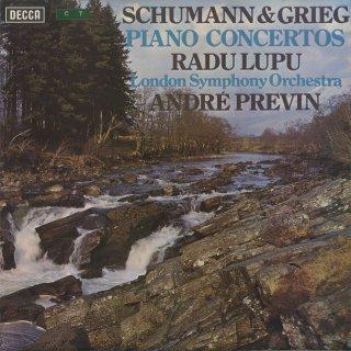 シューマン:ピアノ協奏曲Op.54,グリーグ:ピアノ協奏曲Op.16