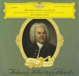 バッハ:イタリア協奏曲BWV.971,トッカータBWV.912,フランス組曲5番BWV.816,幻想曲BWV.562,コントラプンクトゥス15(フーガの技法)