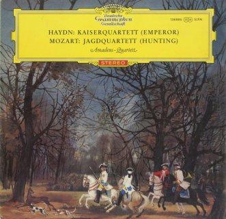 ハイドン:弦楽四重奏曲77番「皇帝」,モーツァルト:弦楽四重奏曲17番K.458「狩」