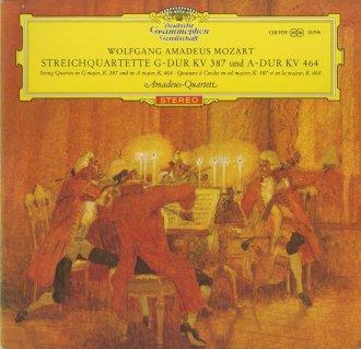 モーツァルト:弦楽四重奏曲14番K.387,18番K.464