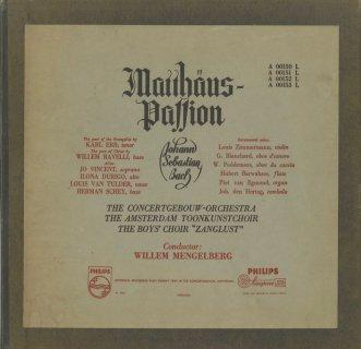 バッハ:マタイ受難曲BWV.244