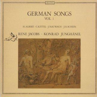 ドイツ歌曲Vol.1/アルベルト,キッテル,ナウヴァッハ,シャイン