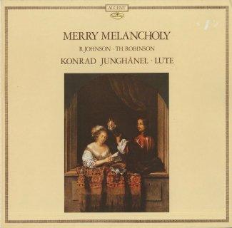 「メリー・メランコリー/ルネッサンスリュート曲集」R.ジョンソン(9曲),T.ロビンソン(14曲)