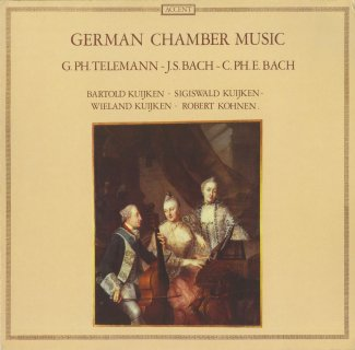 「ドイツ室内楽曲集」バッハ,テレマン,C.P.E.バッハ