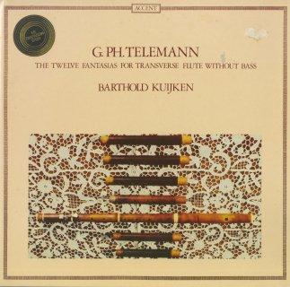 テレマン:無伴奏フルートのための12の幻想曲
