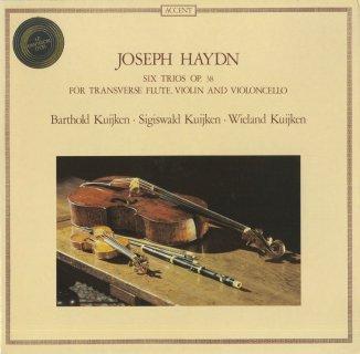 ハイドン:6つのフルート三重奏曲Op.38