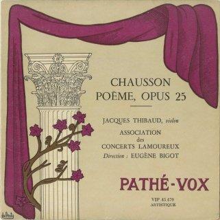 ショーソン:詩曲Op.25