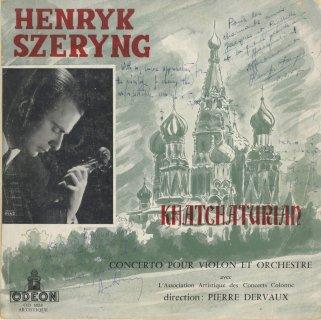 ハチャトゥリャン:ヴァイオリン協奏曲,プロコフィエフ:ヴァイオリン協奏曲2番