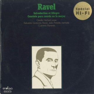 ラヴェル:弦楽四重奏曲,序奏とアレグロ