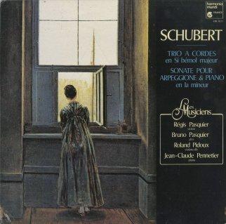 シューベルト:弦楽トリオ1,2番,アルペッジョーネ・ソナタ
