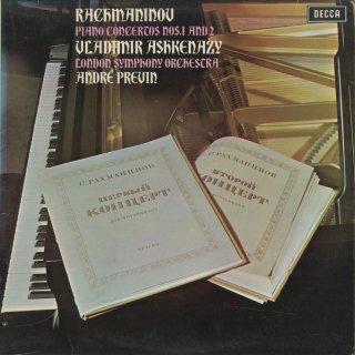 ラフマニノフ:ピアノ協奏曲1番Op.1,2番Op.18